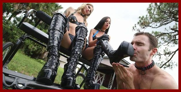 boot slave at sex clip