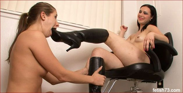 FOOTDOM UNITED - Boot worship clips with young slave [HD 720p]