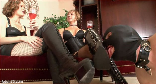 Goddess Brianna - My mistresses and i are near their boots [FULL HD 1080p]