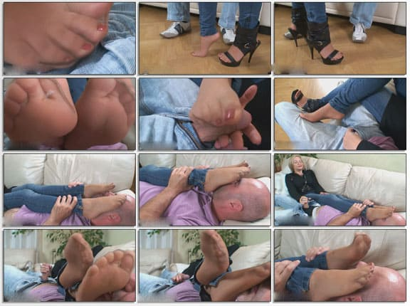Sexy feet sex