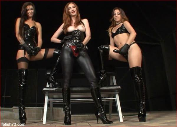 Kendra James, Esmi Lee, Alexia Jordan - Strapon POV [HD 720p / ClubDom]